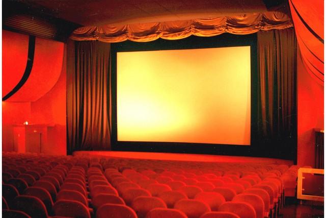 Stühle und Leinwand im CineparC in Ravensburg