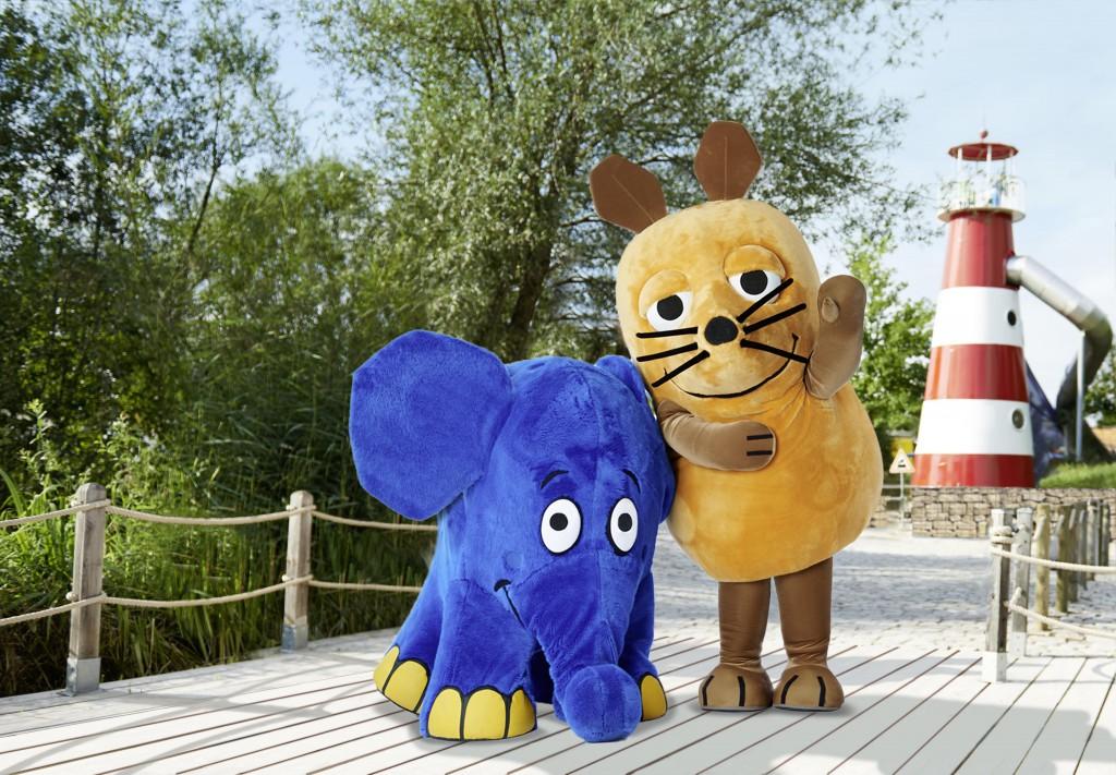 Maus und Elefant aus der Sendung mit der Maus
