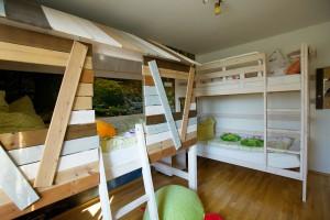 Waldblick Kinderzimmer