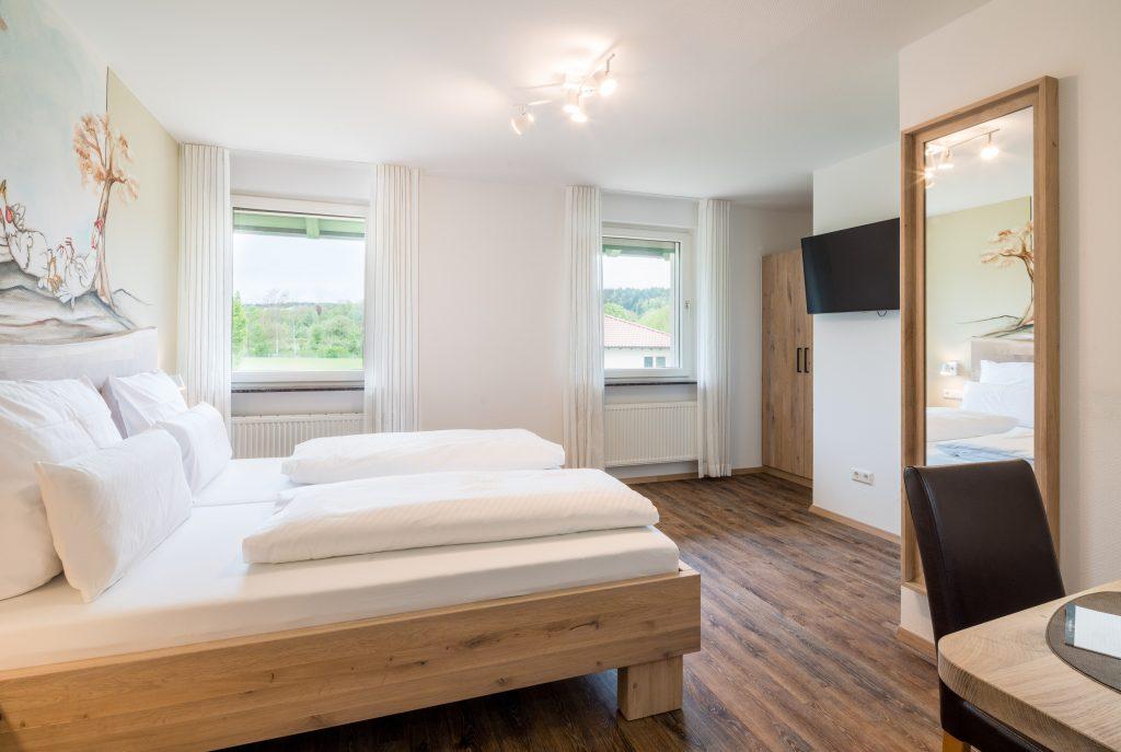 Unsere Zimmer am Hofgut Tiergarten 2